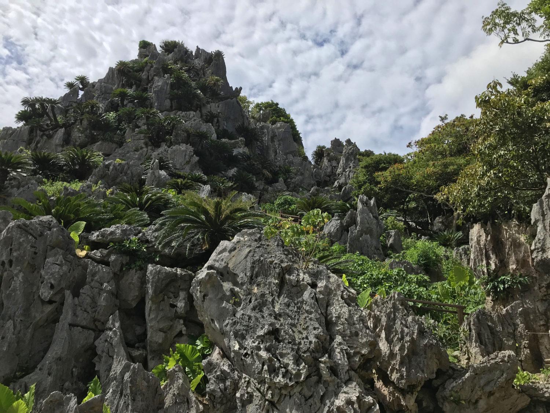 大石林山の岩山「悟空岩」だったかな?