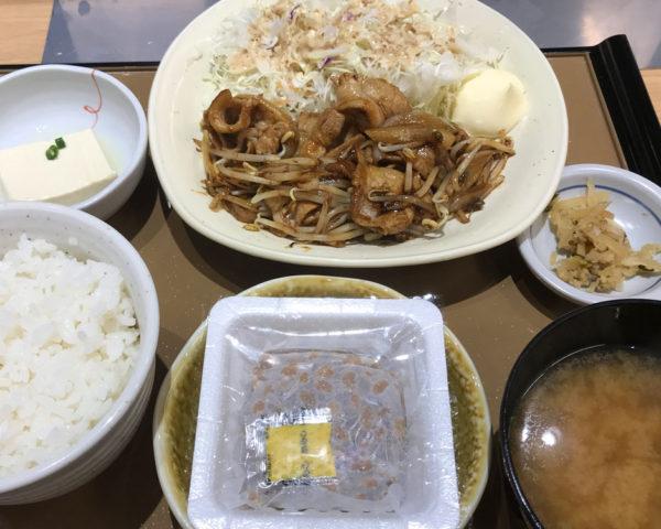 やよい軒 はにんす宜野湾店で、しょうが焼定食たべて「ごはん おかわりロボ」を使ってみた!