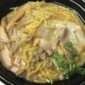ローソン『麺屋彩未監修 札幌味噌らーめん(530円)』は濃厚スープが美味い。