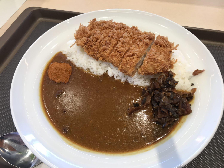 マイカリー食堂「ロースかつカレー」550円。コスパが高い!