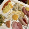 レストラン『THE DINING 暖琉満菜(沖縄かりゆしビーチリゾート)』で朝食バイキング。