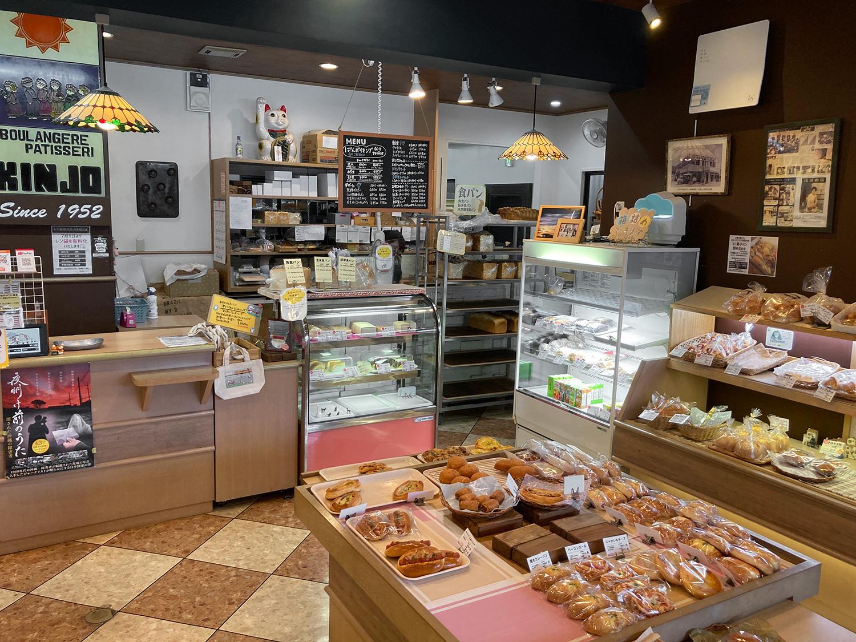 お店に入るとパンの香ばしい香りと、食欲をそそるチーズの香りが漂います!