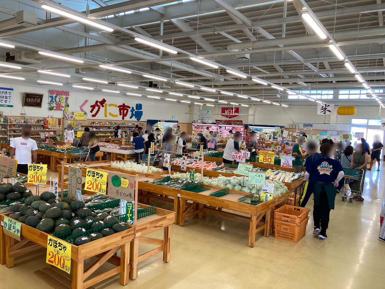 お店の中はこんな感じです。野菜以外の商品も販売されています。