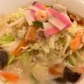 リンガーハット北谷店の『野菜たっぷりちゃんぽん』と『薄皮ぎょうざ』を食べてきた!